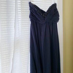 Chiffon Sweetheart Neckline Bridesmaid Dress